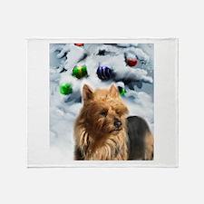 Australian Terrier Throw Blanket