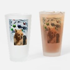 Australian Terrier Drinking Glass