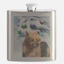Australian Terrier Flask