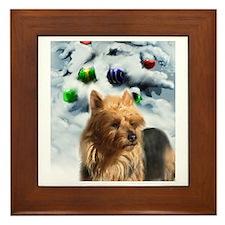 Australian Terrier Framed Tile