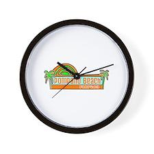 Pompano Beach, Florida Wall Clock