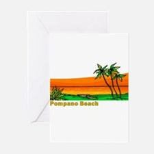 Pompano Beach, Florida Greeting Cards (Package of