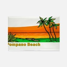 Pompano Beach, Florida Rectangle Magnet