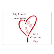 Canaan Heart Belongs Postcards (Package of 8)