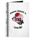 Someone deployed in Iraq loves me! Journal