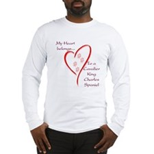 Cavalier Heart Belongs Long Sleeve T-Shirt