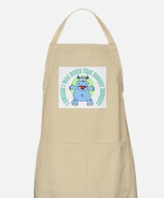 I Was Never That Hungry HIPPO BBQ Apron