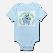 I Was Never That Hungry HIPPO Infant Bodysuit