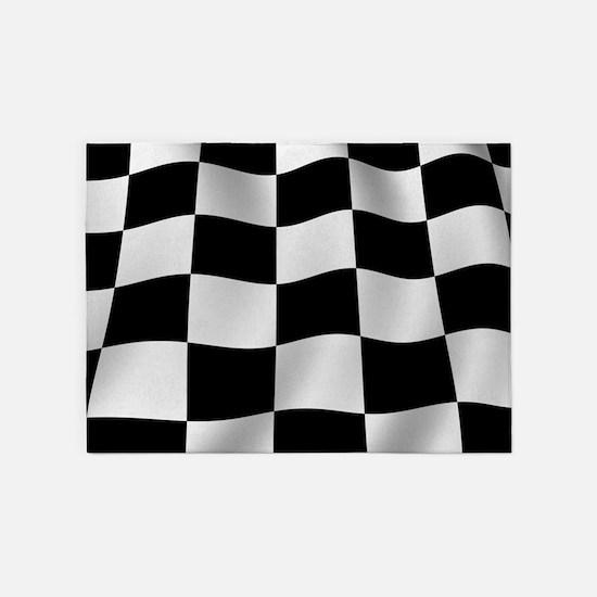 Checkerboard Rug: Black And White Checkered Rugs, Black And White Checkered