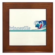Cute Hanalei Framed Tile