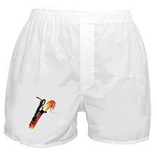 Hot Baritone Sax Boxer Shorts