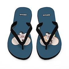Blue Sandals Flip Flops