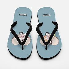 Aqua Blue Sandals Flip Flops