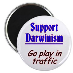 Support Darwinism Magnet