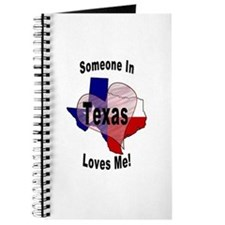 Someone in TEXAS loves me! Journal