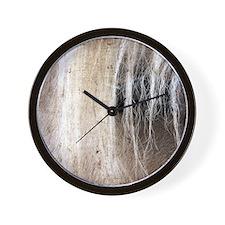 Palomino Grunge Wall Clock