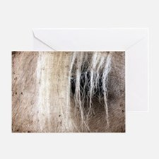 Palomino Grunge Greeting Card