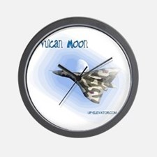 Vulcan Moon Wall Clock