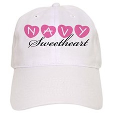Navy Sweetheart Baseball Cap