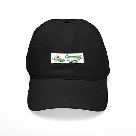 Canoeing Black Cap