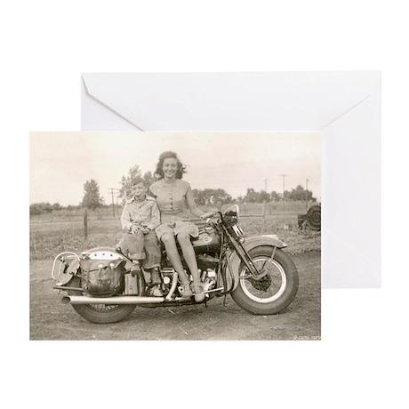 Harley Girl Greeting Cards (Pk of 10)