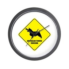 Terrier Crossing Wall Clock