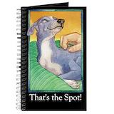 Italian greyhound Journals & Spiral Notebooks