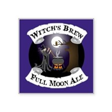 "Witch's Brew Square Sticker 3"" x 3"""