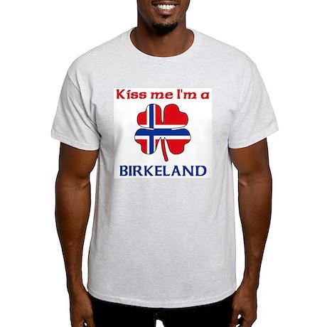 Birkeland Family Ash Grey T-Shirt