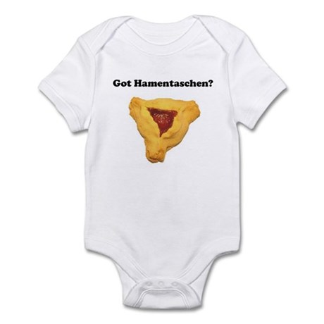 Got Hamentaschen? Infant Bodysuit