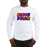 Happy Purim Long Sleeve T-Shirt