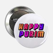Happy Purim Button
