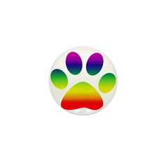 Paw Mini Button (100 pack)