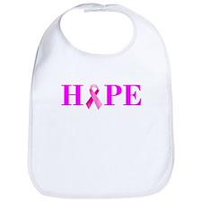 Pink Ribbon Hope Bib
