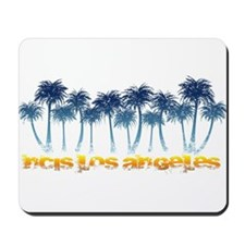 NCISLA Palms Distressed Mousepad