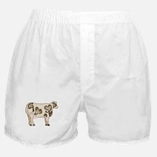 Love Cow Boxer Shorts
