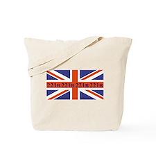 221B union jack Tote Bag