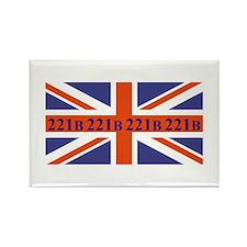 221B union jack Magnets