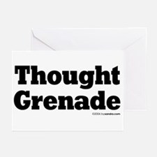 Thought Grenade Greeting Cards (Pk of 10)