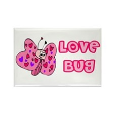 Love Bug Rectangle Magnet