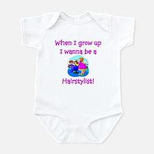 I Wanna Be A Nurse Infant Bodysuit
