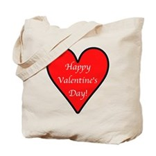 Valentine's Day Heart Tote Bag