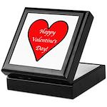 Valentine's Day Heart Keepsake Box
