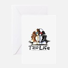 Tzu Life Greeting Card