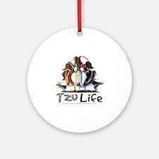 Tzu Life Ornament (Round)