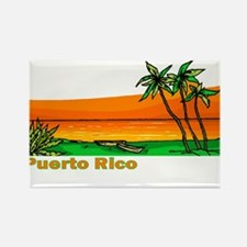 Funny Vieques Rectangle Magnet