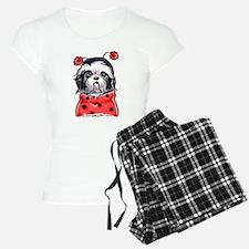 Shih Tzu Ladybug Pajamas