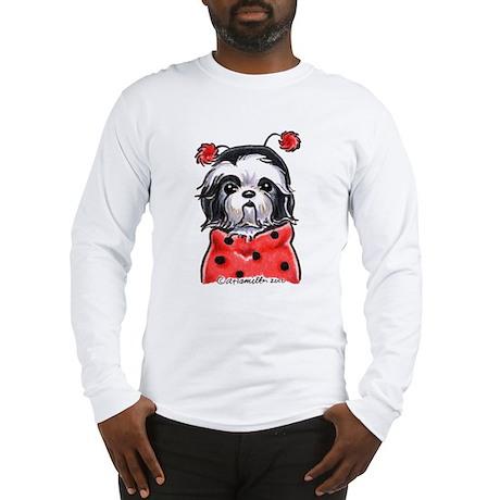 Shih Tzu Ladybug Long Sleeve T-Shirt