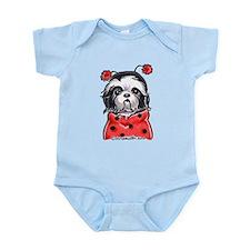 Shih Tzu Ladybug Infant Bodysuit