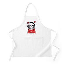 Shih Tzu Ladybug Apron